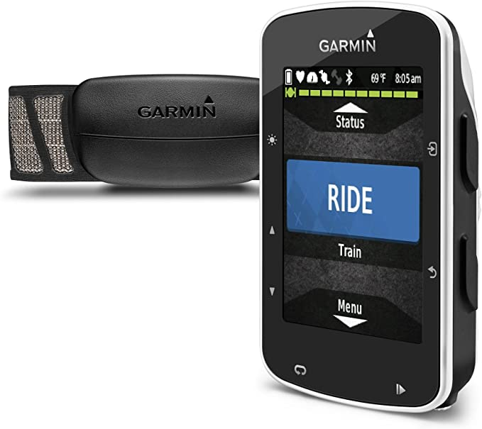 Garmin Edge 520 Pack - Ciclocomputador con GPS, incluye monitor de ...