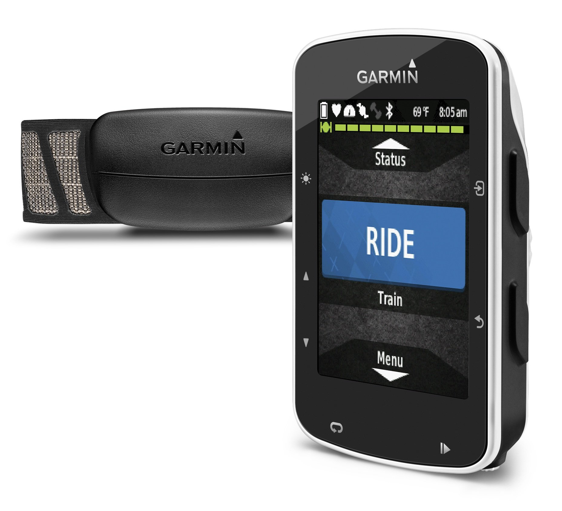Garmin Edge 520 Bike GPS (includes Heart Rate Monitor Strap, Cadence sensor & Speed sensor)