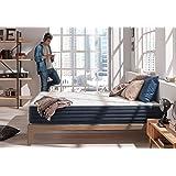 Matelas AURA 140 x 190 cm à mémoire de forme Thermosoft® Viscotex® + mousse Blue latex® à 7 zones de confort DOUBLE FACE été/hiver, épais 25 cm LITERIE CONFORT