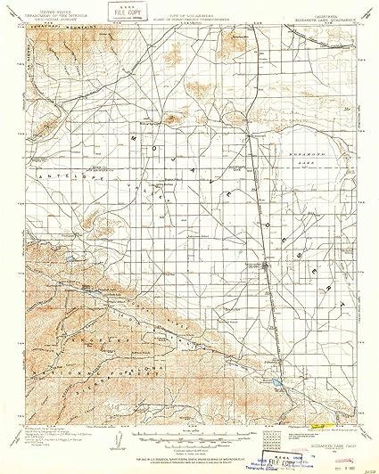 lake elizabeth ca map Amazon Com Yellowmaps Elizabeth Lake Ca Topo Map 1 125000 Scale lake elizabeth ca map