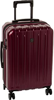 e9c9d20649 Delsey Luggage Helium Titanium Carry-On EXP Spinner Trolley Red