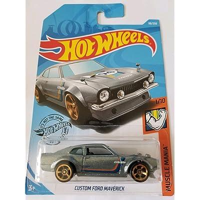 Hot Wheels 2020 Muscle Mania - Custom Ford Maverick, Gray 98/250: Toys & Games