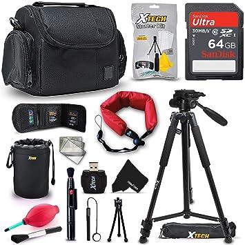 Amazon.com: Xtech PRO - Kit de accesorios para cámaras Canon ...