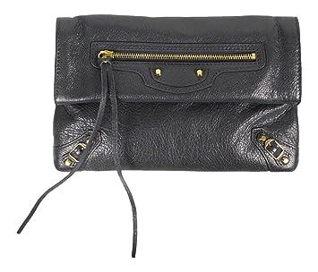 fd9556154 Amazon.com : Balenciaga Gray Leather Classic Mini Envelope Crossbody Bag :  Baby