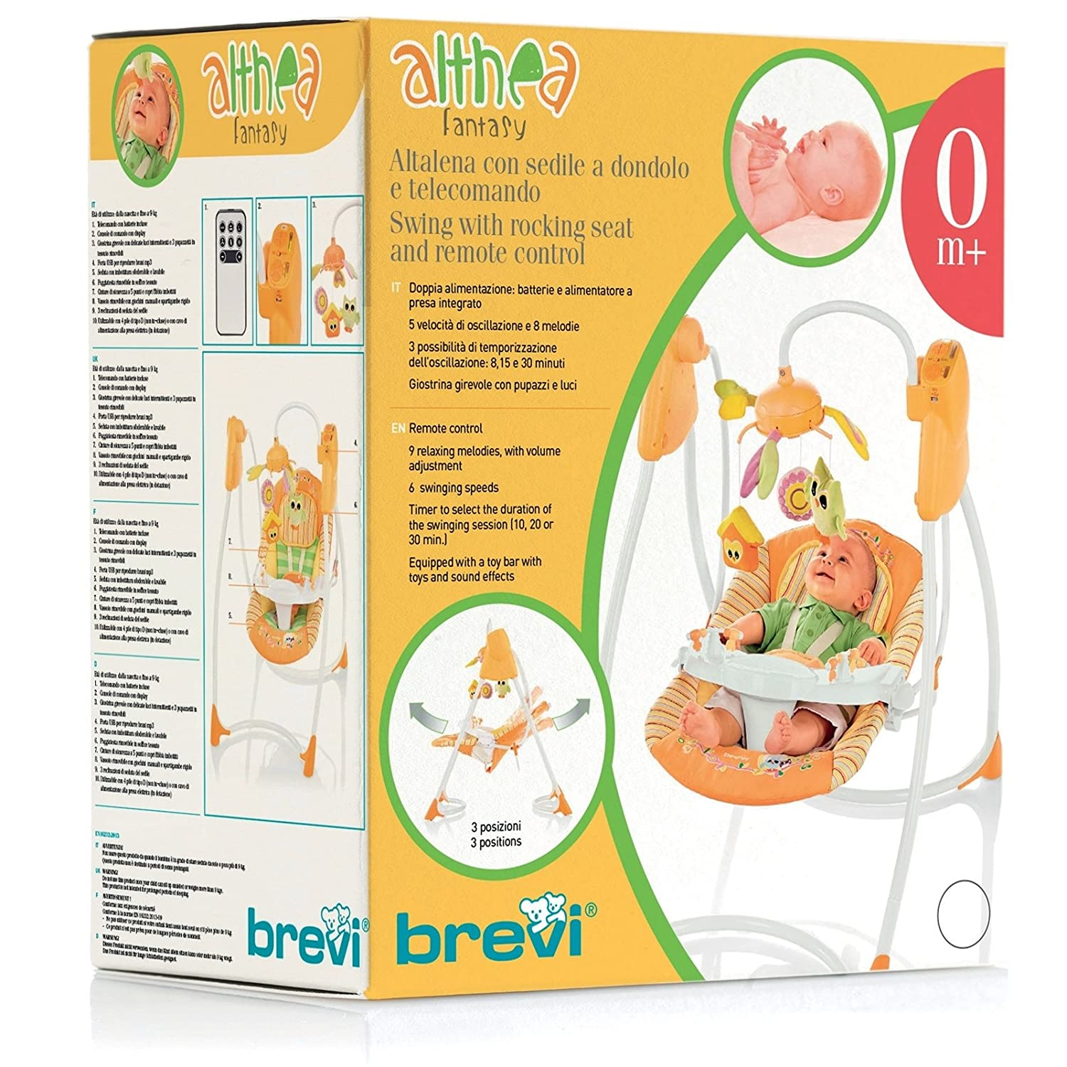 Brevi altalena Altea Design Fantasy multicolore Amazon Prima infanzia