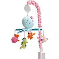 Carter's Sea Collection Musical Mobile, Pink/Blue/Turquoise