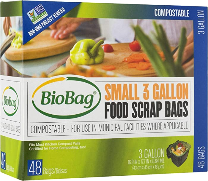 Top 6 Biobag Food Waste Bags 3 Gallon