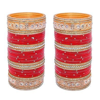 Bridal & Wedding Party Jewelry Indian Fashion New Chudi Set Bangles Ethnic New Designer Chura Set Collection