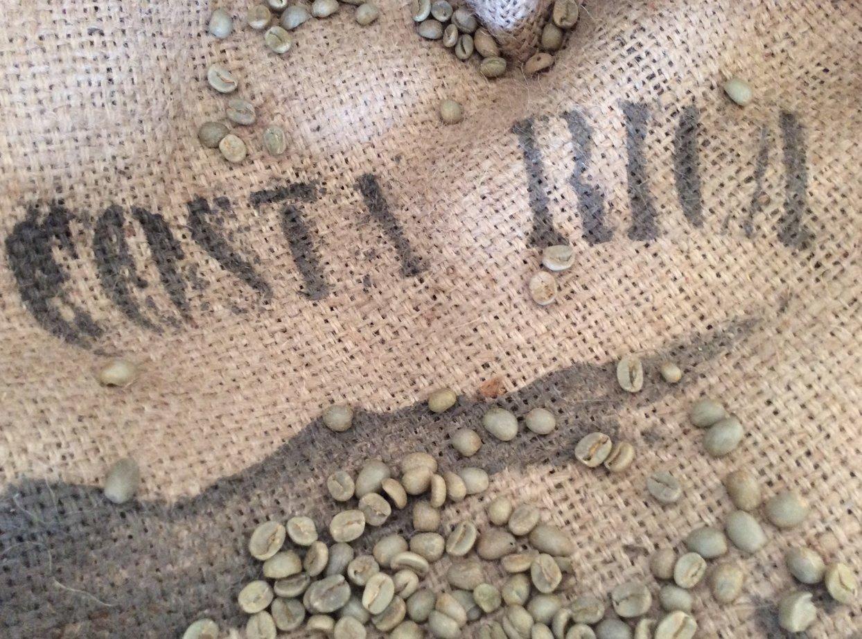 Timrow Traders Unroasted Green Coffee Beans - Costa Rica Tarazzu - 10 LB