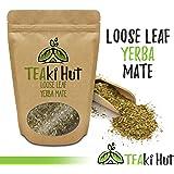Organic Yerba Mate Herbal Tea 3.5 Ounce (53 Servings): Caffeinated Loose Leaf Tea, Hand Picked From Brazil
