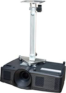 PCMD, LLC. Projector Ceiling Mount Compatible with Acer D4K1701 D4K1702 E270 H7850 HE-4K20 HT-4K20 M550 (Telescoping 13-20-Inch Extension)