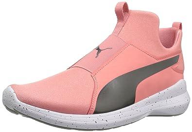 PUMA Women s Rebel Mid WNS Speckles Sneaker 2517a7580