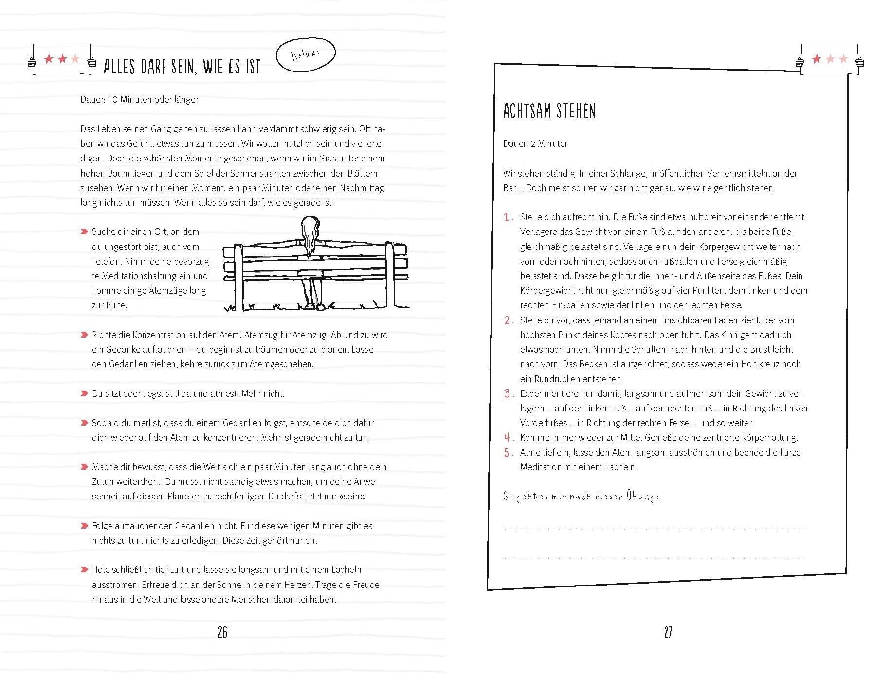 Meditation: Mein Übungsbuch für mehr Wohlbefinden und Gelassenheit ...