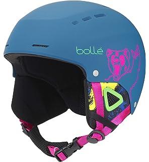 7d7f2ce81 Amazon.com: Bolle B-Yond Adult Ski Snowmobile Helmet - Soft Blue ...
