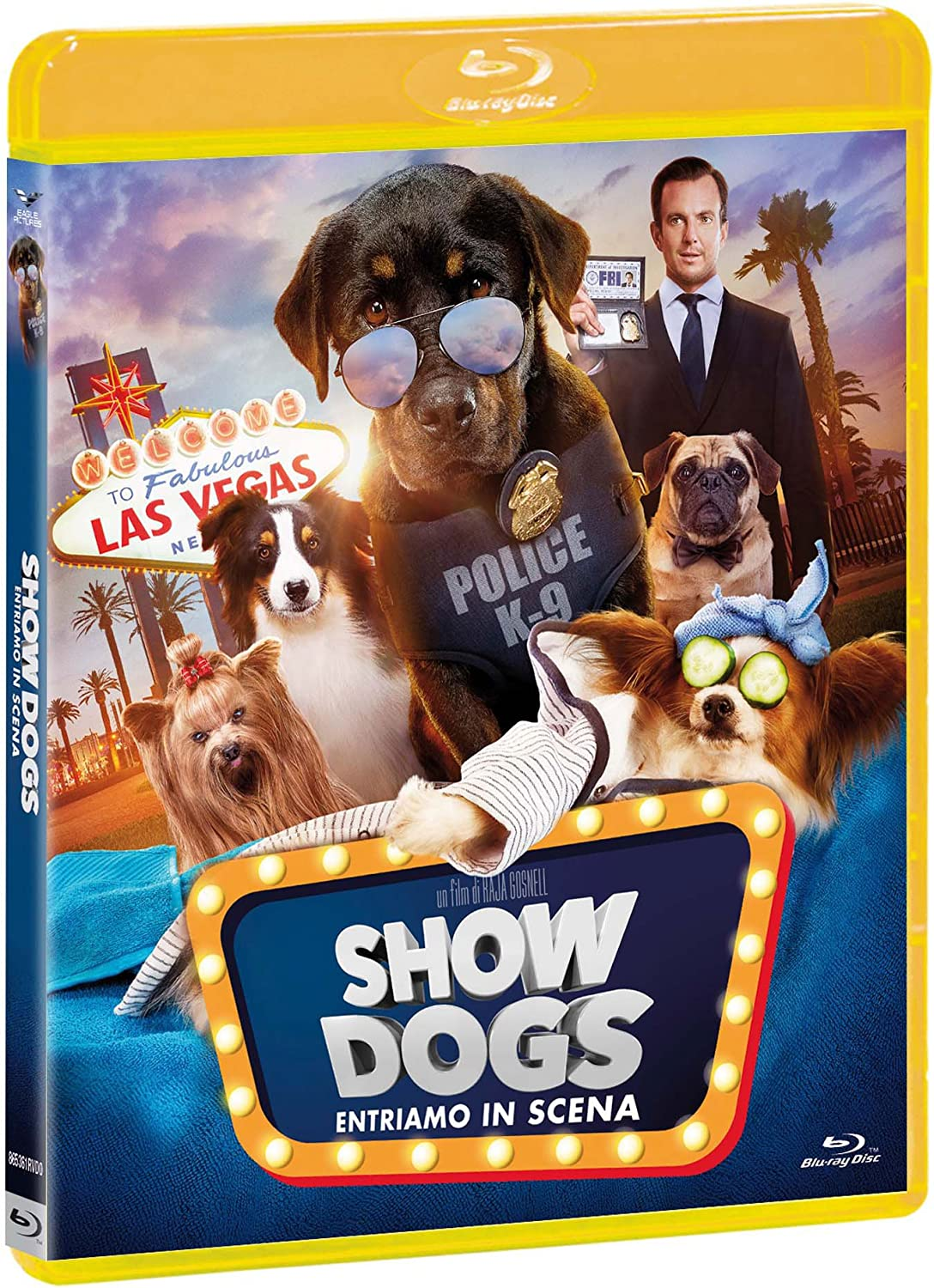 Show Dogs Blu Ray Bluray Italian Import Amazon Co Uk Natasha Lyonne Will Arnett Raja Gosnell Dvd Blu Ray