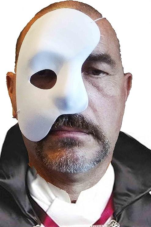 CHW Máscara Blanca de Fantasma de la Opera con Ojo PIU bajo para ...