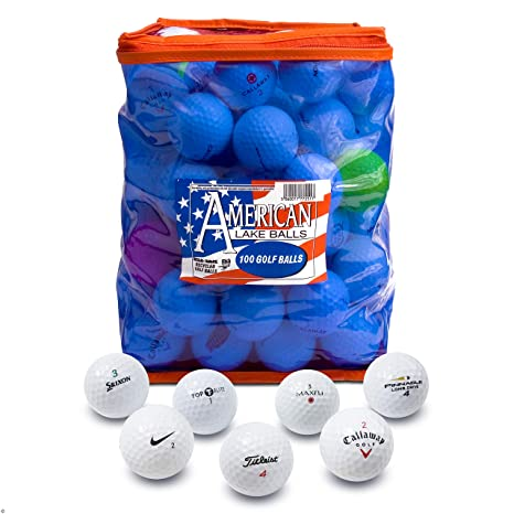 a58a7a943cc01 Second Chance 100-B-BAG - Set de 100 bolas de golf recuperadas de ...