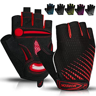 Men Cycling Gloves Full Finger Bicycle Gloves Touch Screen Gel Padded Mittens
