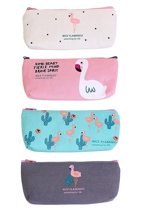 HiChange - Estuche de tela para estudiantes, monedero, neceser, bolsa de maquillaje