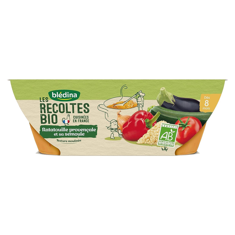 Blé dina Idé e de Maman Bio 12 bols Ratatouille de Lé gumes (Pack de 6x2 bols) BLEDINA 3041091349477