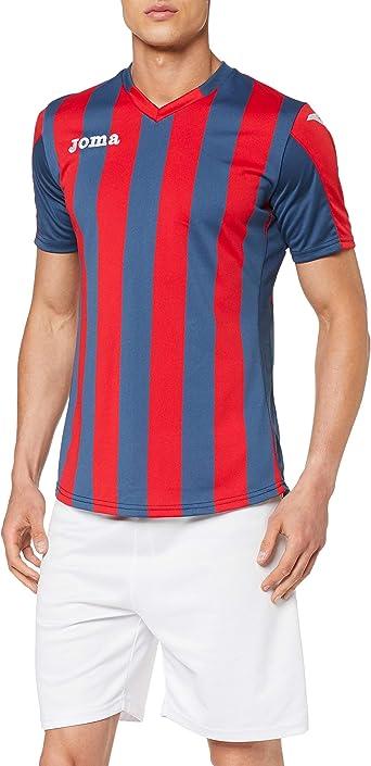 Joma Copa Camiseta de Equipación de Manga Corta, Hombre ...