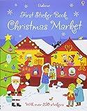 First Sticker Book Christmas Market (First Sticker Books)