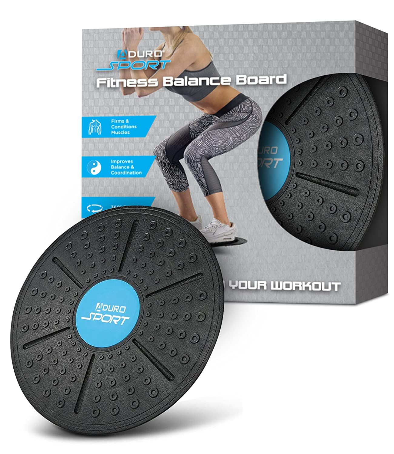Aduro Sport Fitness Rocker Board