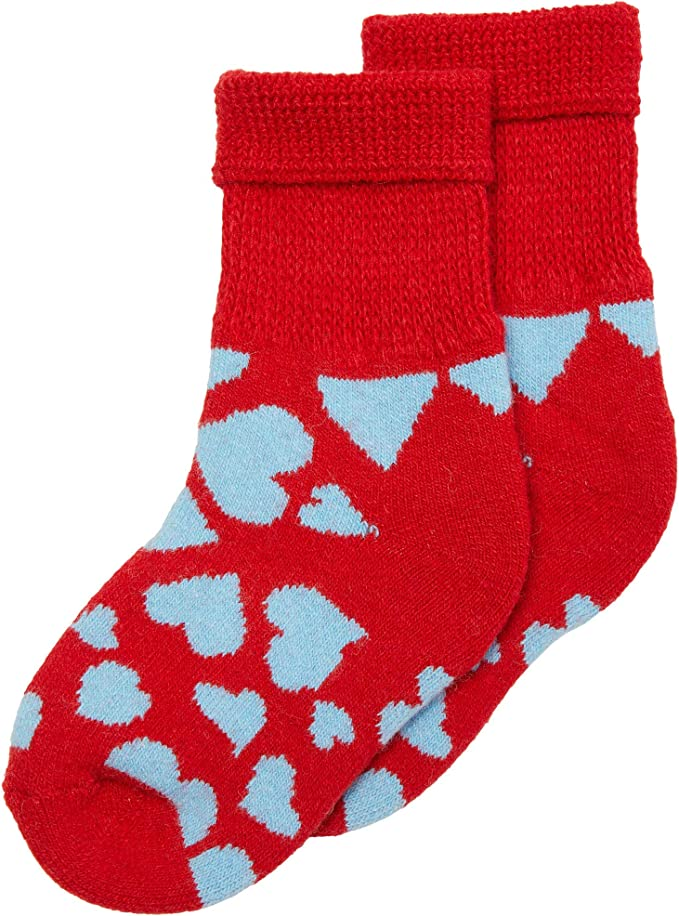 Happy Socks Heart Cozy Sock (Toddler/Little Kid)