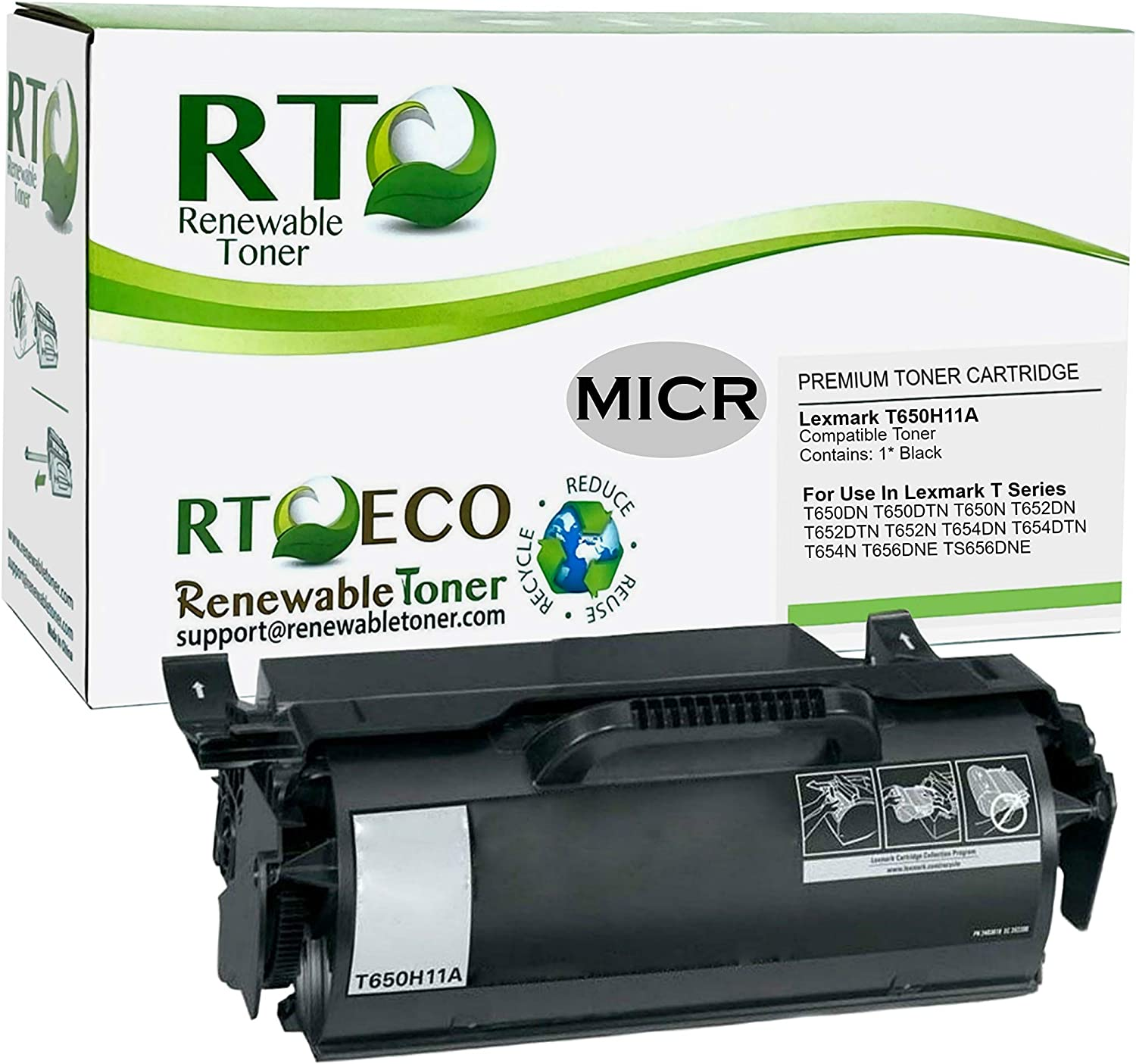 Black, 3 Pack 80A MS Imaging Supply MICR Replacement for HP CF280A
