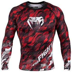 BJJ MMA Men/'s Rash Guard All Sizes Demon Diablo Comfort Fit