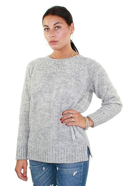 Kocca DEBORA variante colore Grigio melange Collezione  Autunno-Inverno  2018 19 (M)  Amazon.it  Abbigliamento c778ecf9313