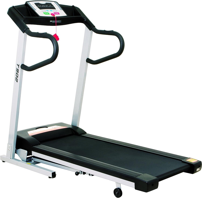 Cinta de Correr para Fitness (Inclinada, Plegable), Color Gris ...