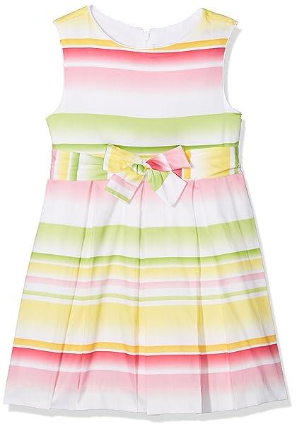 Mayoral 3950, Vestido para Niñas, Amarillo, 3 años (Tamaño del Fabricante: