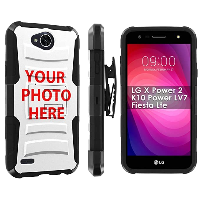 outlet store c22e8 cfaac Amazon.com: [POPCulture] Custom Rugged Case For LG X Charge/X Power ...