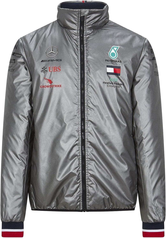 Mercedes AMG Petronas Sport Automobile F1/™ Veste Rembourr/ée L/ég/ère pour Hommes 2020