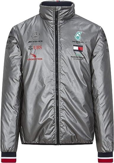 Size: XS Fuel For Fans Official Formula One Mercedes-AMG Petronas Motorsport 2020 Team Rain Jacket