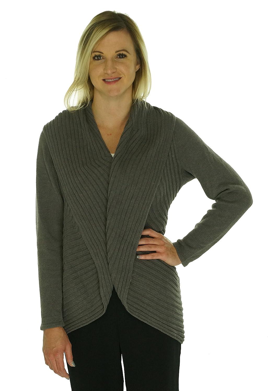 40efc7b35c947 hot sale 2017 Alfani Womens Open Front Ribbed Knit Cardigan Sweater ...