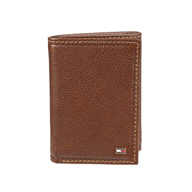 Tommy Hilfiger Big Skinny Wallet - Leather Wallets for Men Slim Thin  Trifold with RFID Blocking d59afde5a196