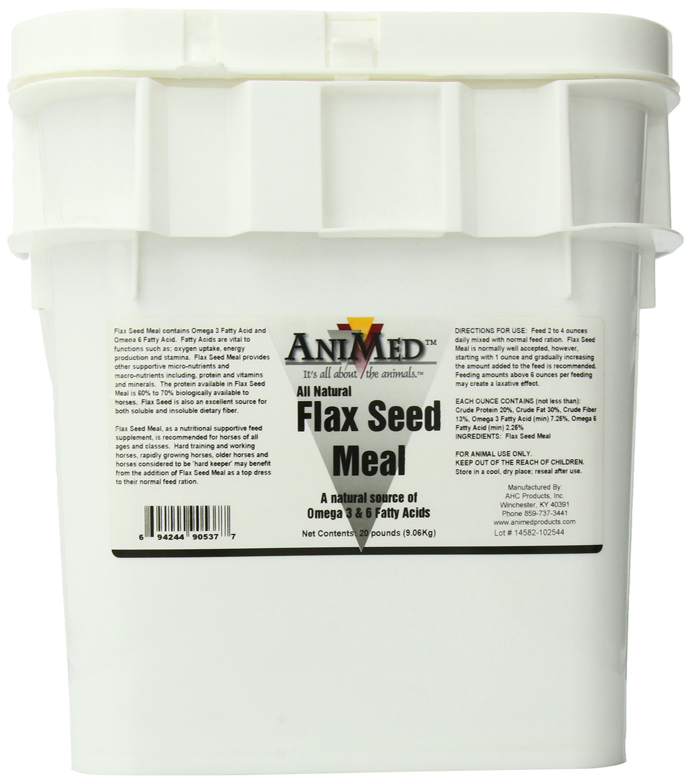 AniMed Flax Seed Meal 20# 90537