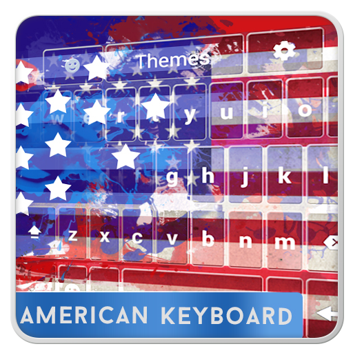 American Keyboard with Emojis (Usa Emoticon)