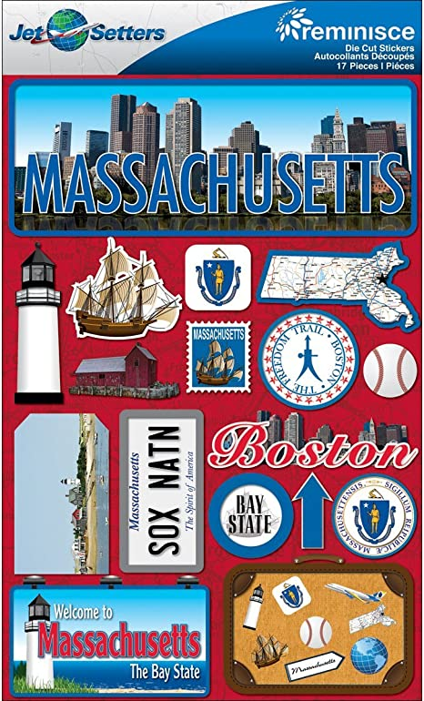 Reminisce Jet Setters Dimensional Stickers-Washington D.C.