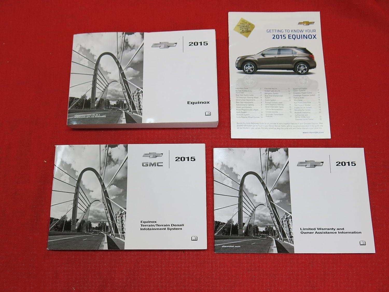 Amazon.com: 2015 Chevy Chevrolet Equinox Owners Manual: Chevrolet:  Automotive