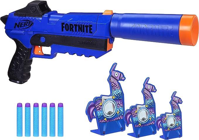 NERF Fortnite Targeting Set For Fun Game Darts Play Indoor Xmas Christmas Gift