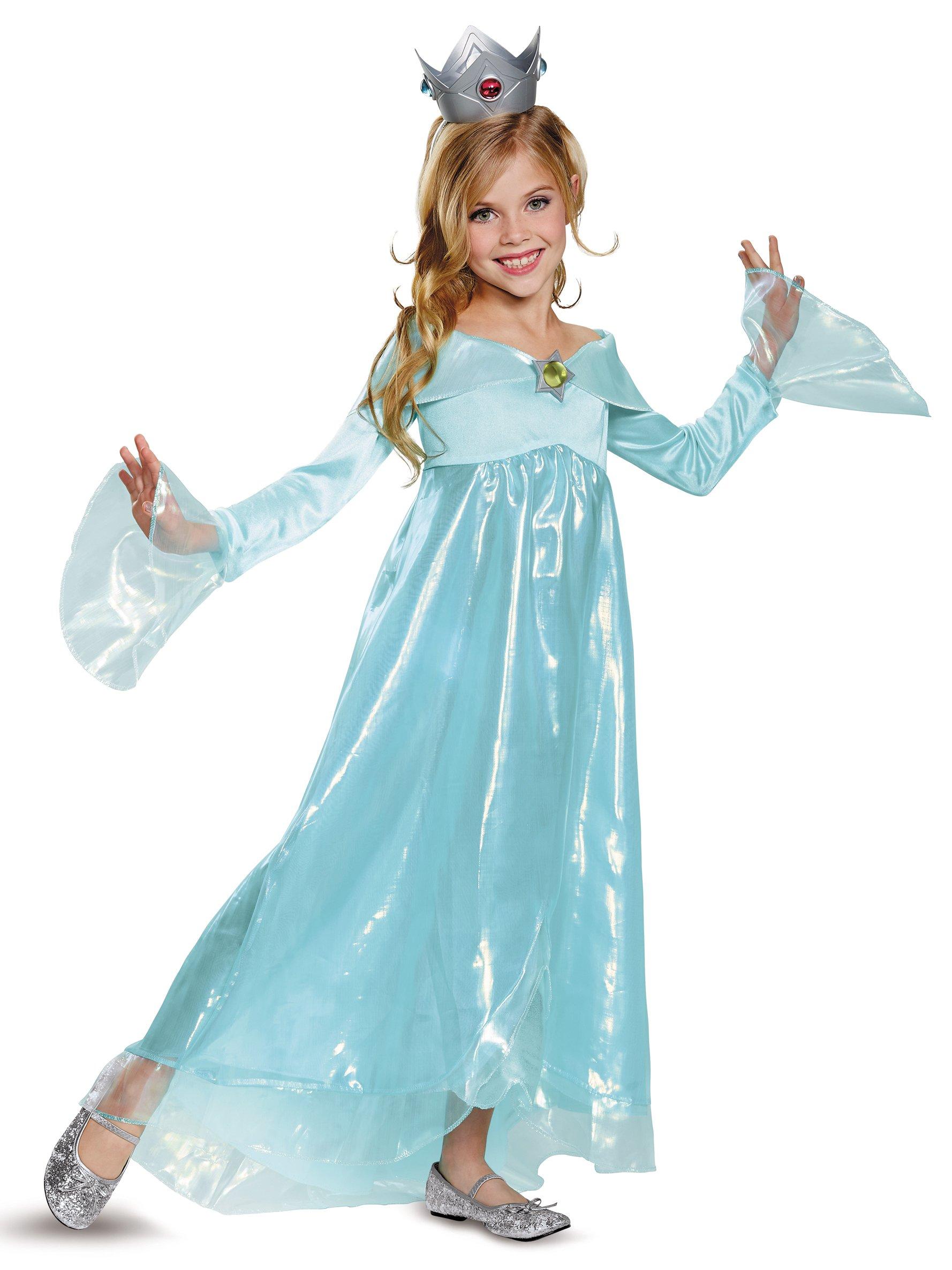 Rosalina Deluxe Costume, Blue, Medium (7-8)