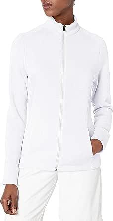 PGA TOUR Women's Fleece Full-Zip Sweater
