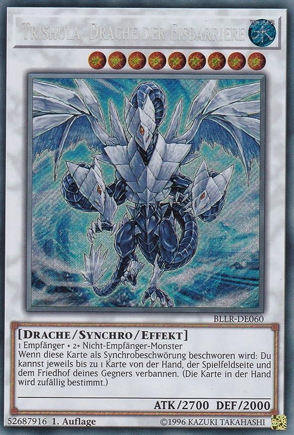 Drache Der Eisbarriere  DUDE-DE014 Ultra Rare DE NM Trishula