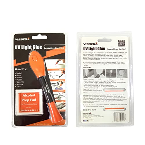 Visbella UV Light Glue Kit