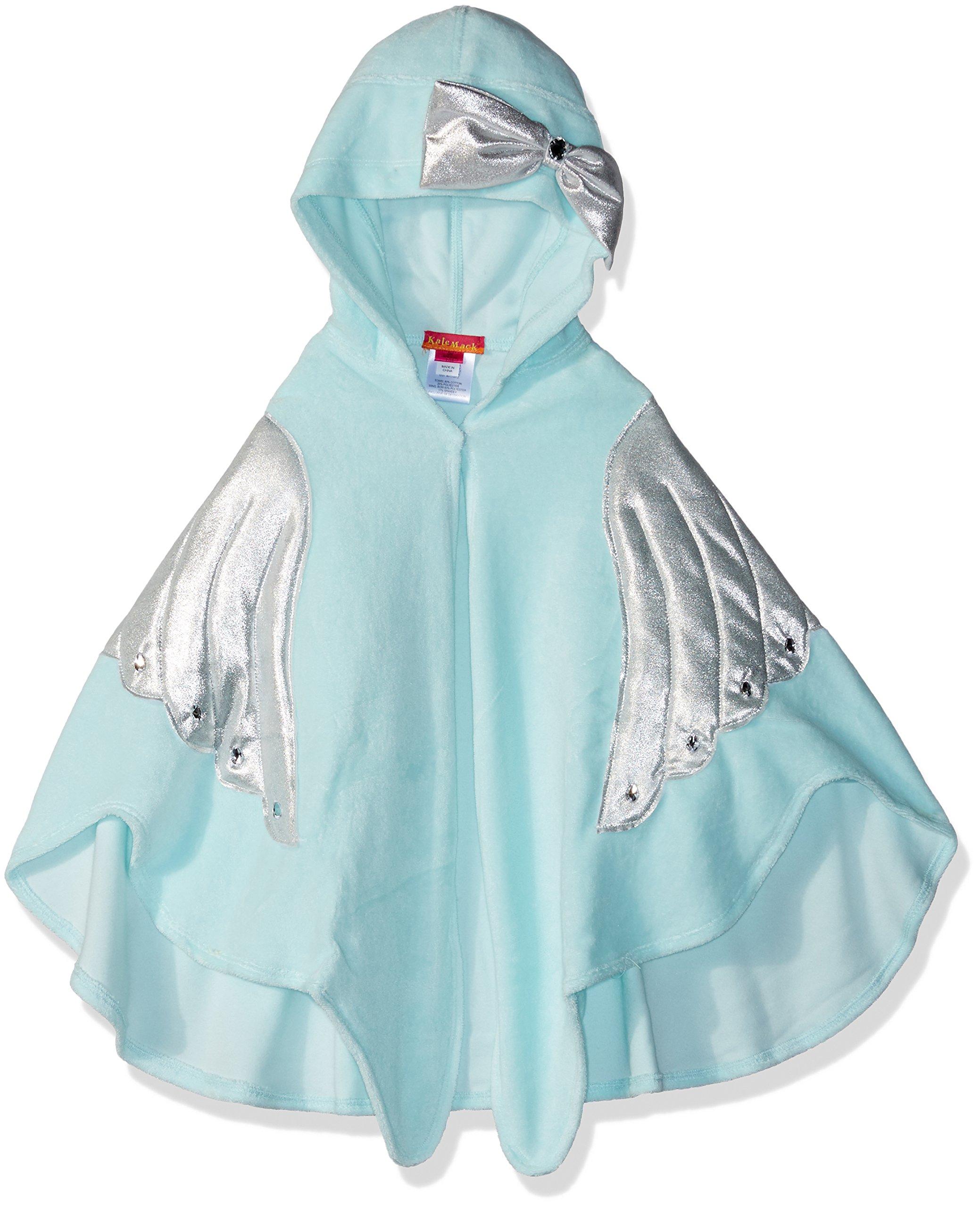 Kate Mack Little Girls' Fairy Dance Terry Towel, Aqua, ONE SZ