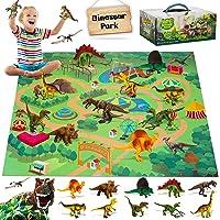Fivejoy Juguetes de Dinosaurios, Dinosaurios Juguetes, Figuras de Dinosaurios Realistas, Juego Educativo de Dinosaurios…
