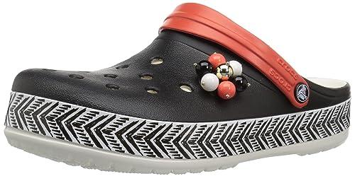 7c6cdce40 crocs Women s Drew Barrymore Crocband Chevron Clog  Buy Online at ...
